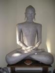Papier-mache Buddha