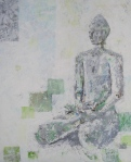Buddha acrylic on canvas