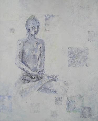 Buddha acrylic on canvas